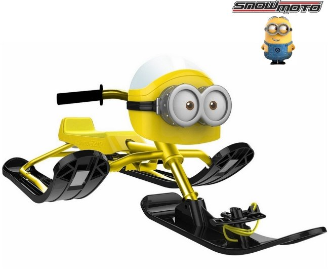 Snow Moto  Minion  yellow  37018 - снегокат