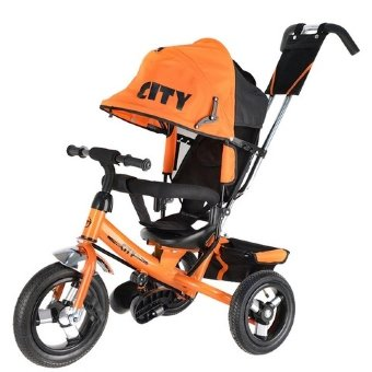 Велосипед Trike City Big JD7B, оранжевый