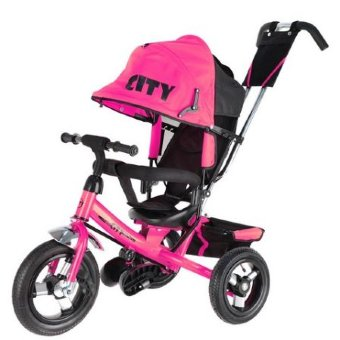 Велосипед Trike City Big JD7B, розовый