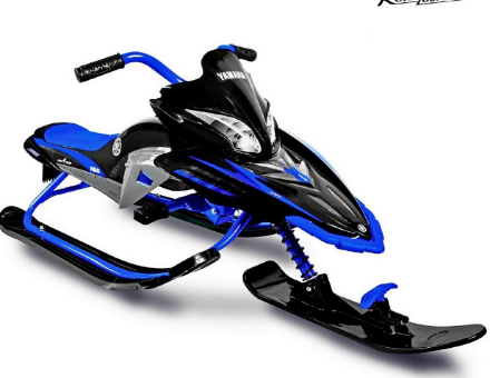 Снегокат YAMAHA Apex SNOW BIKE Titanium blue