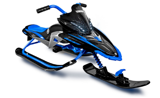 Снегокат Yamaha APEX Snow Bike with LED, blue