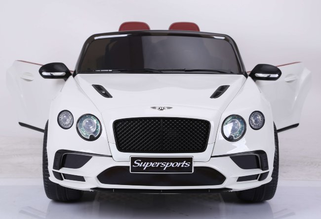 Электромобиль Bentley Supersport (JE1155) белый