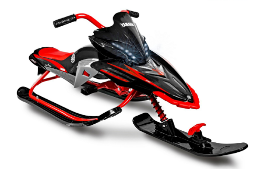 Снегокат YAMAHA Apex SNOW BIKE Titanium red
