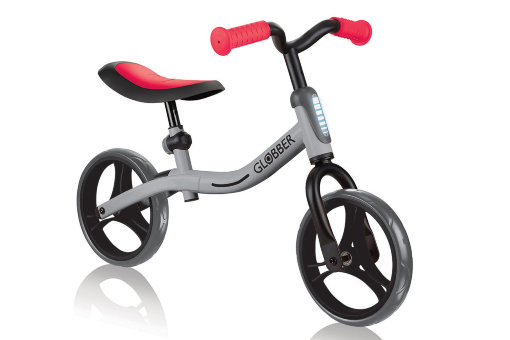 "Беговел ""Globber"" Go Bike grey-red"