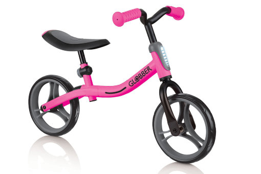 "Беговел ""Globber"" Go Bike black-pink"