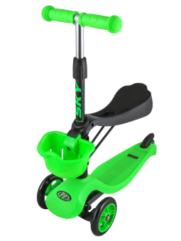 Самокат-беговел ТТ Sky Scooter New green