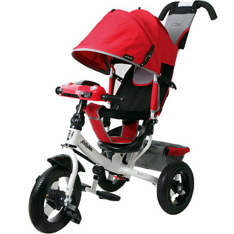 Велосипед Moby Kids Comfort 12x10 AIR Car 2  red