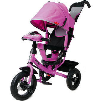 Велосипед Moby Kids Comfort 12x10 AIR Car 1 purple
