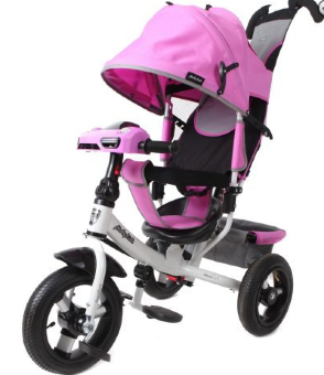 Велосипед Moby Kids Comfort 12x10 AIR Car 2 purple