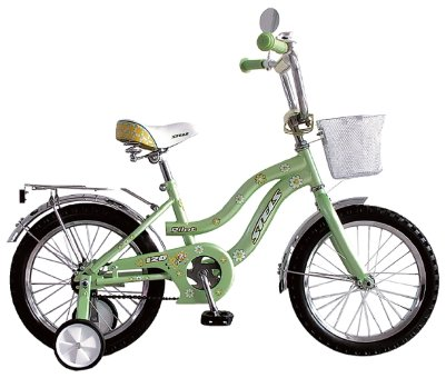 "Stels Pilot-120 16"" 2016 light green"