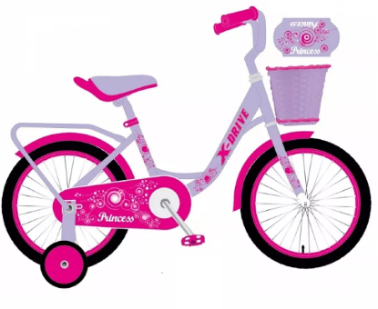 "XD-Bike Princess 14""  pink"