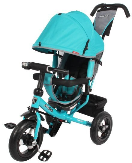 Велосипед  Moby Kids Comfort Air бирюза