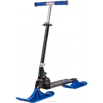 Снегосамокат Stiga Bike Snow Kick, black-blue
