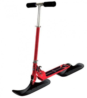 Снегосамокат Stiga Bike Snow Kick, red-black