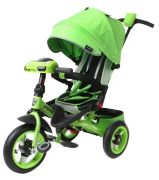 Велосипед  Moby Kids Leader 360° AIR Car (641070), зеленый