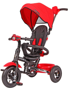 Велосипед  Moby Kids Junior-2 (T300-2), красный