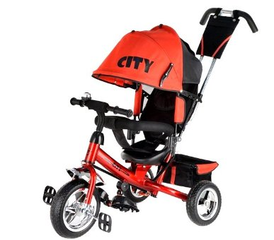 Велосипед Trike City  JD7RS, красный