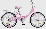 "Novatrack  20"" Girlish Line pink"