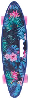 Скейтборд TechTeam Fishboard 23 print blue
